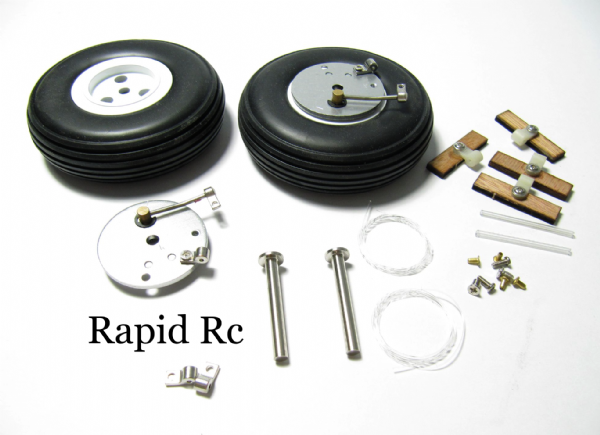 Rc Model Braking System  with 70mm  Wheels